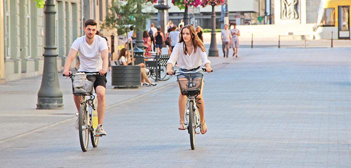 Prednosti in slabosti mestnega kolesa