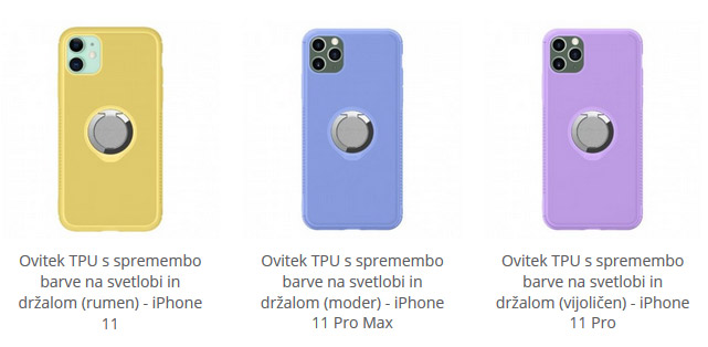 Ovitek TPU za iPhone 11