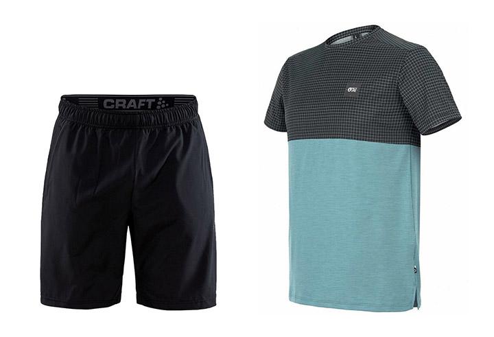 Tekaške hlače Craft / Tekaška majica Picture